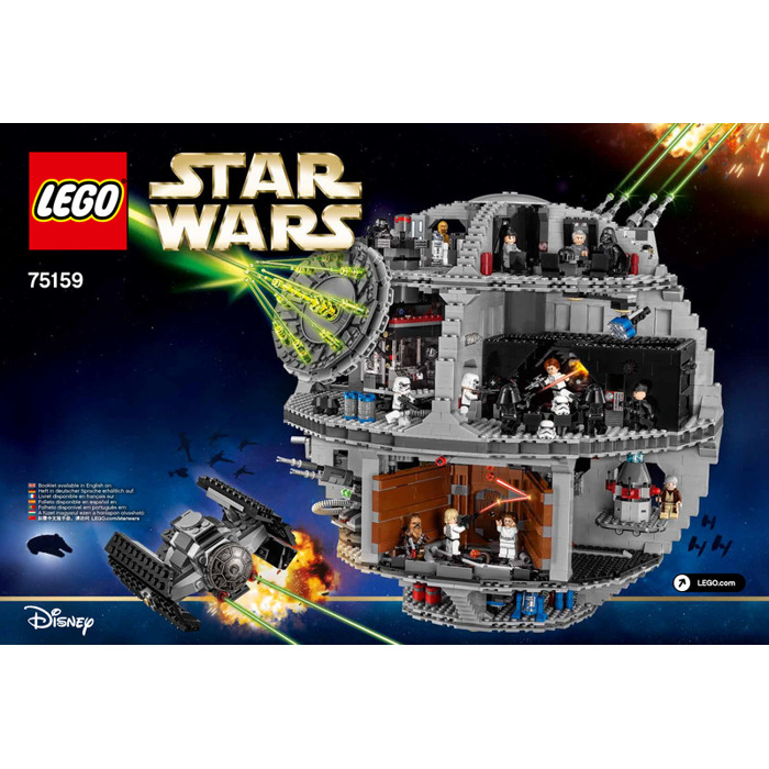 Lego Death Star Set 75159 Instructions Brick Owl Lego Marketplace
