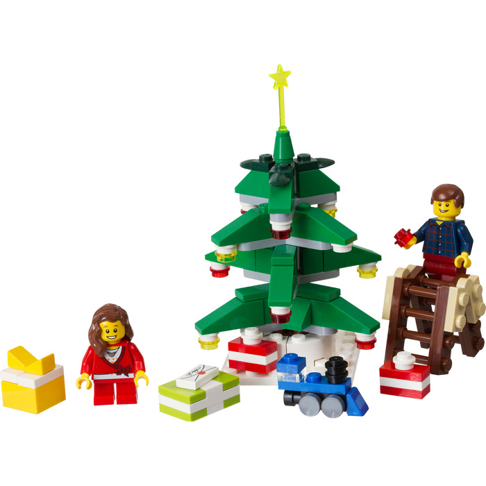 Lego decorating the tree set 40058 brick owl lego for Decoration lego