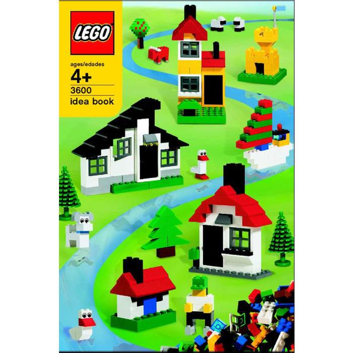 Lego Deluxe House Building Set 3600 Instructions Brick Owl Lego
