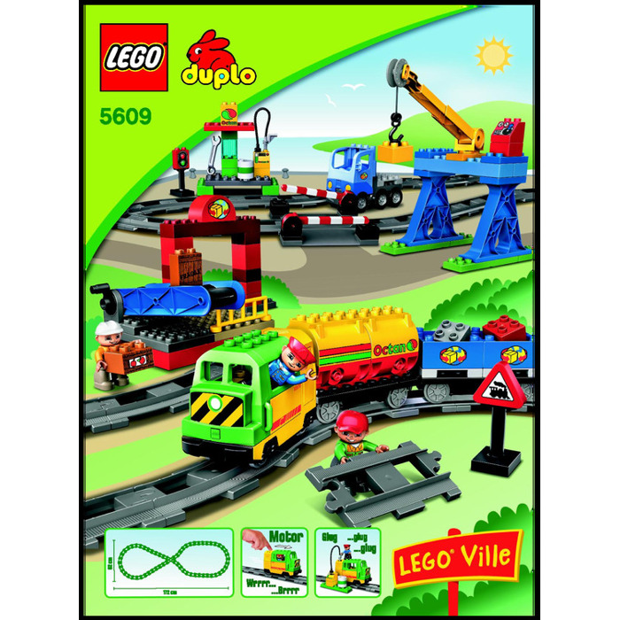 lego deluxe train set 5609 instructions brick owl lego. Black Bedroom Furniture Sets. Home Design Ideas