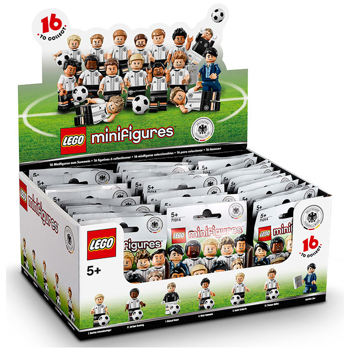 LEGO Marco Reus Set 71014-13 Comes In | Brick Owl - LEGO Marketplace