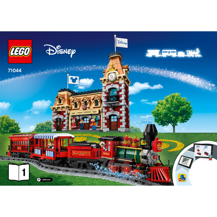LEGO Disney Train and Station Set 71044 Instructions | Brick