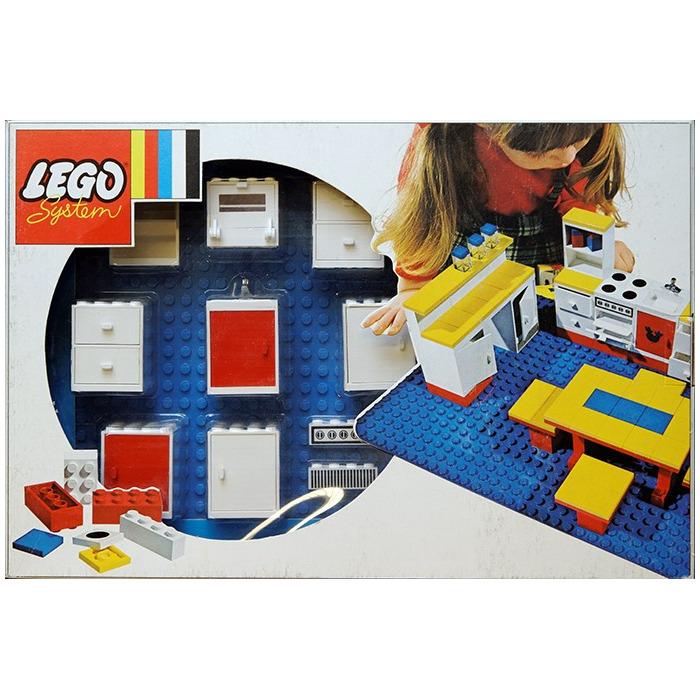 LEGO Dolls Kitchen Set 261-4 Inventory