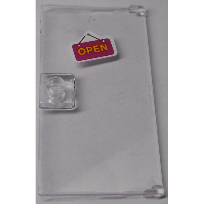 Clear Door 60616 35290 35291 3 x Genuine LEGO® 1 x 4 x 6 with Stud Handle