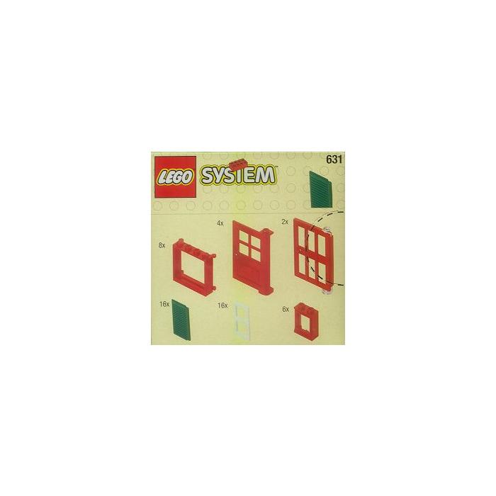 Lego window 1 x 2 x 3 shutter 3856 comes in brick owl for 2 x 3 window
