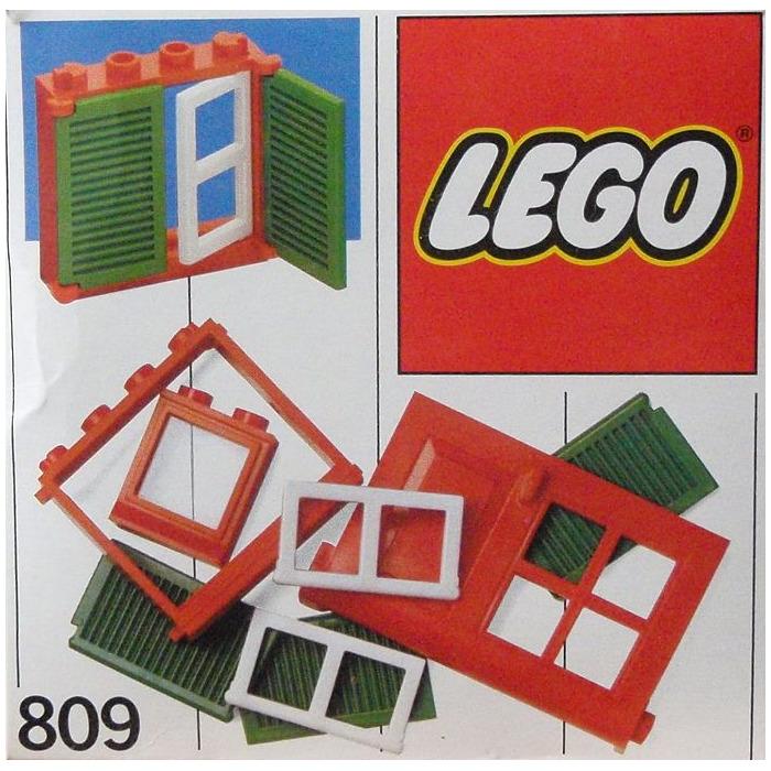 LEGO Doors and Windows Set 809  sc 1 st  Brick Owl & LEGO Doors and Windows Set 809   Brick Owl - LEGO Marketplace