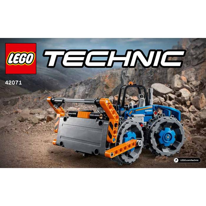 Lego Dozer Compactor Set 42071 Instructions Brick Owl Lego