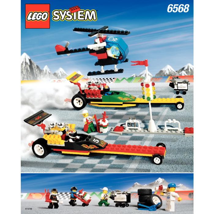 LEGO Drag Race Rally Set 6568 Instructions