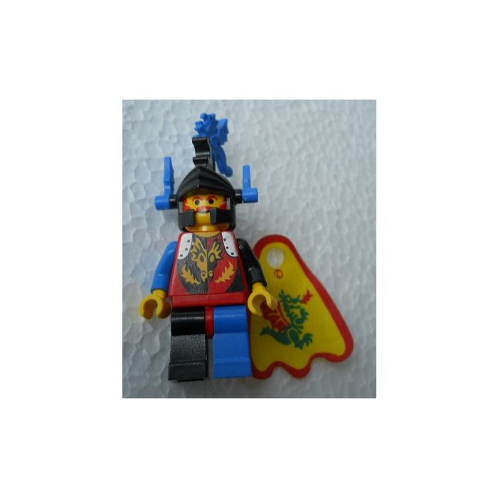 set 6048 6105 6086 LEGO chateau castle blue minifig helmet plume ref x46 /& x48