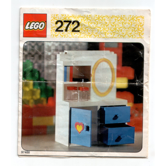 Lego Dressing Table With Mirror Set 272 Instructions Brick Owl