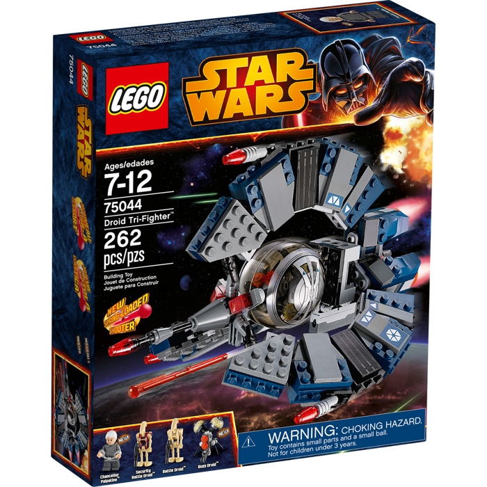 Lego droid tri fighter set 75044 brick owl lego - Lego star wars vaisseau droide ...