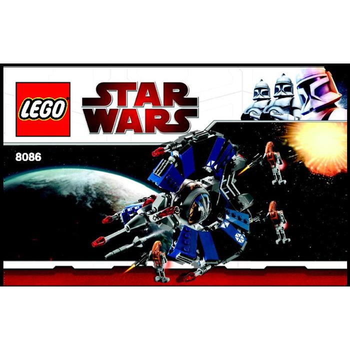 Lego Droid Tri Fighter Set 8086 Instructions Brick Owl Lego
