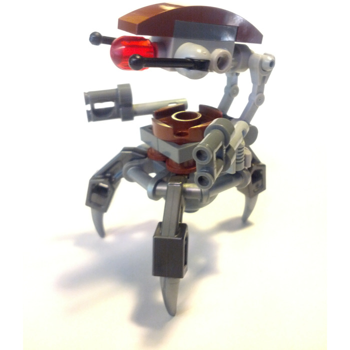 Lego droideka minifigure inventory brick owl lego - Lego star wars vaisseau droide ...