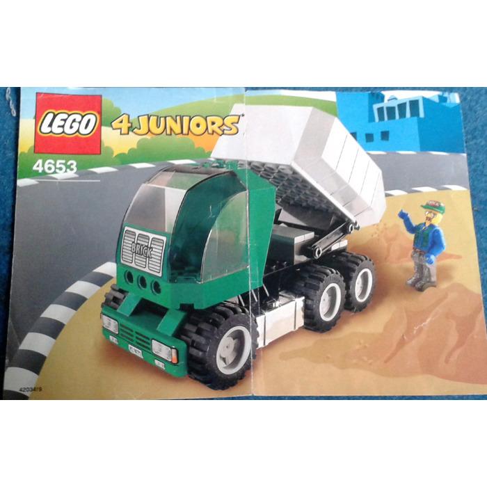Lego Dump Truck Set 4653 Instructions Brick Owl Lego Marketplace