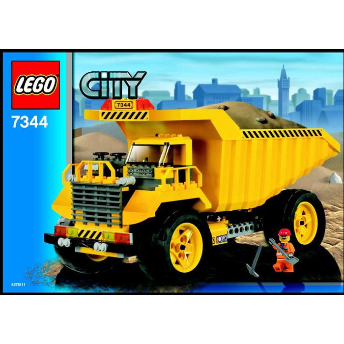 Lego Dump Truck Set 7344 Instructions Brick Owl Lego Marketplace