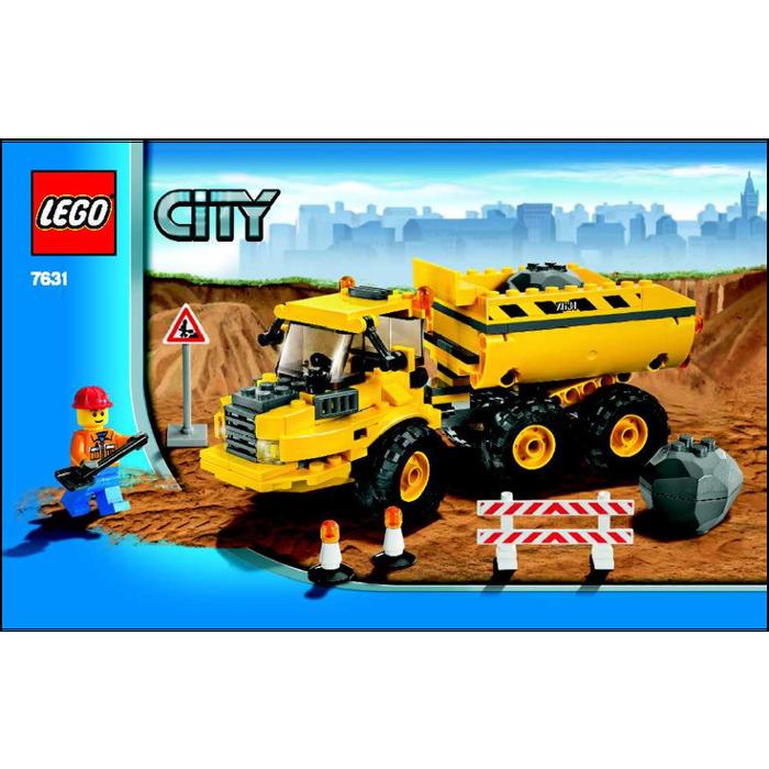 LEGO Dump Truck Set 7631 Instructions | Brick Owl - LEGO ...Lego City Truck Instructions