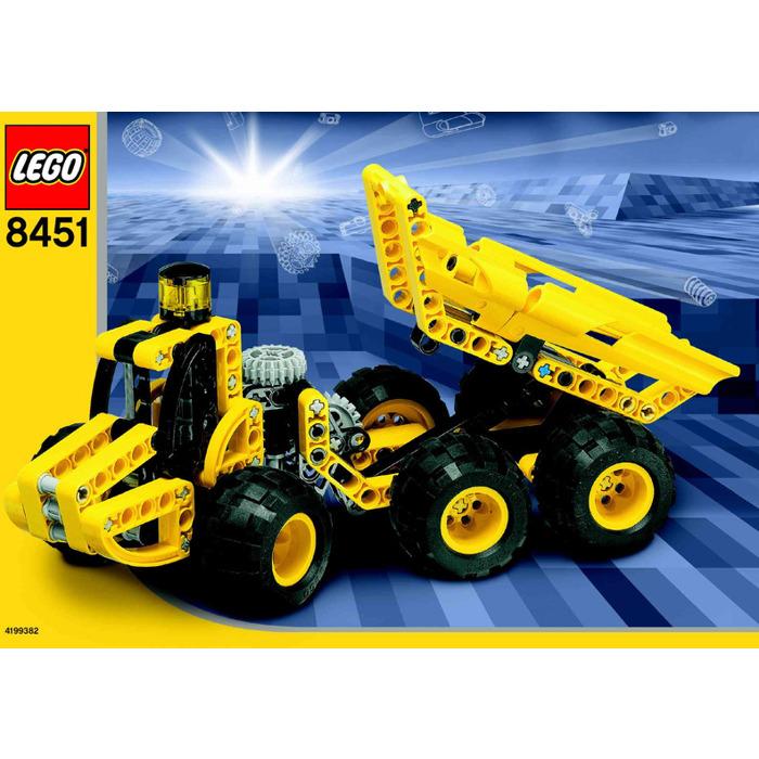 Lego Dump Truck Set 8451 Instructions Brick Owl Lego Marketplace