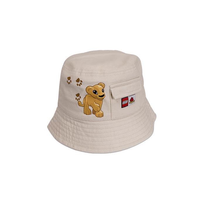 LEGO DUPLO Beige Bucket Hat (852028)  e093d36993ca