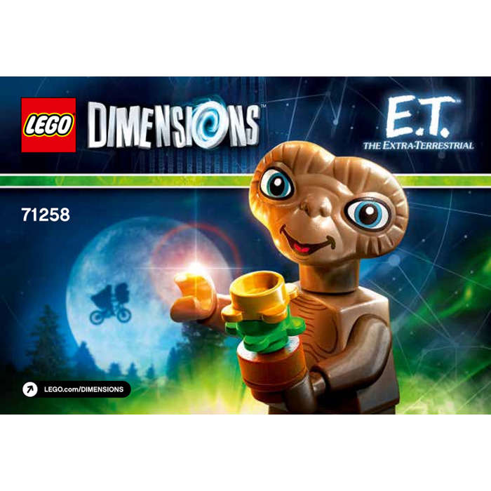 LEGO E.T Set 71258 Instructions