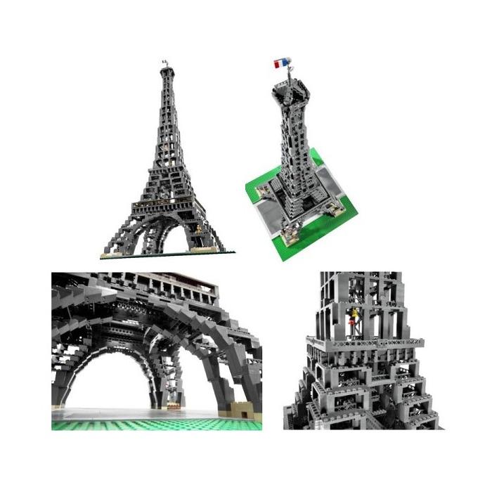 lego eiffel tower 10181 brick owl lego plateforme