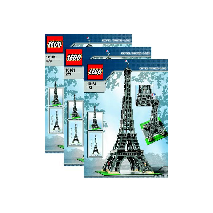 Lego Eiffel Tower Set 10181 Instructions Brick Owl Lego Marketplace
