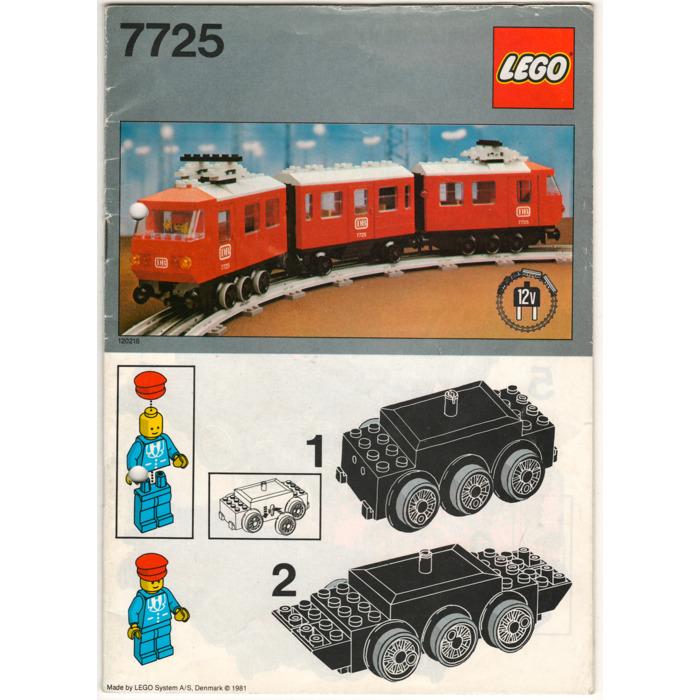 Lego Electric Passenger Train Set 7725 Instructions Brick Owl