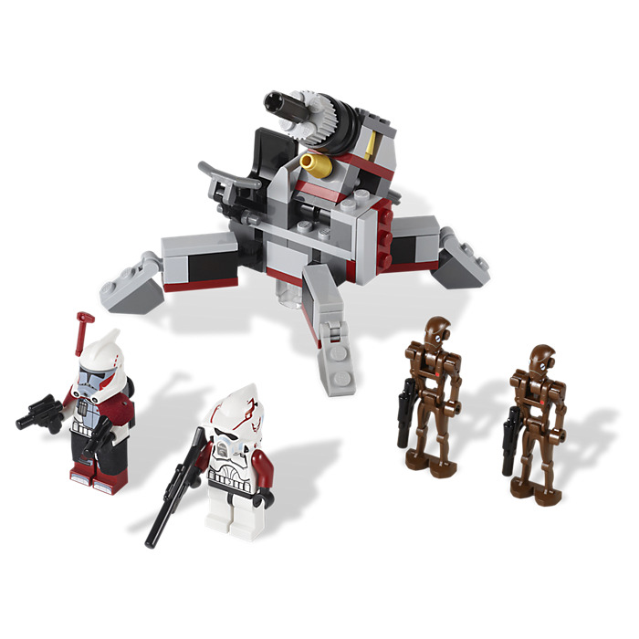 Lego Star Wars 9488 Elite Clone Trooper et Commando Droid