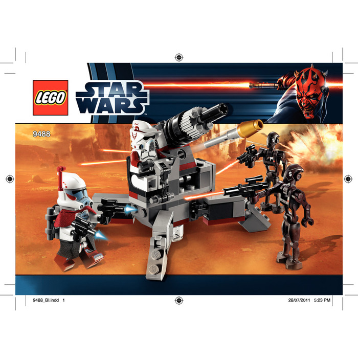 Lego elite clone trooper commando droid battle pack set - Lego star wars vaisseau droide ...