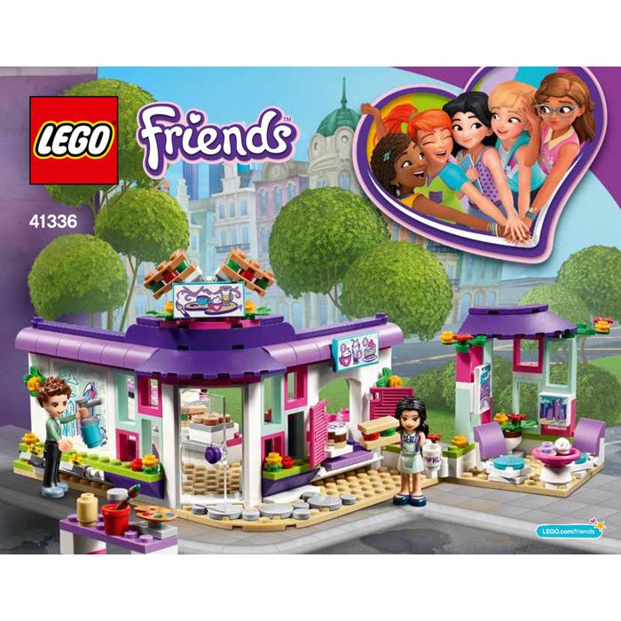 Lego Emmas Art Caf Set 41336 Instructions Brick Owl Lego