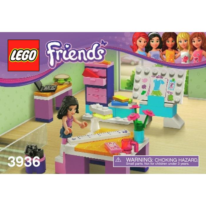 Lego Emma S Fashion Design Studio Set 3936 Instructions Brick Owl Lego Marketplace