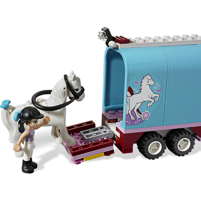 in addition  furthermore Lego Emma S Horse Trailer Set moreover Latest Cb moreover Friends Friends Ultimate Jungle Collection. on lego friends 3186 horse trailer