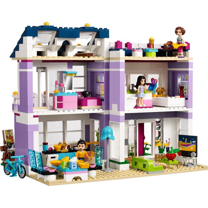 lego emma 39 s house set 41095 brick owl lego marketplace. Black Bedroom Furniture Sets. Home Design Ideas