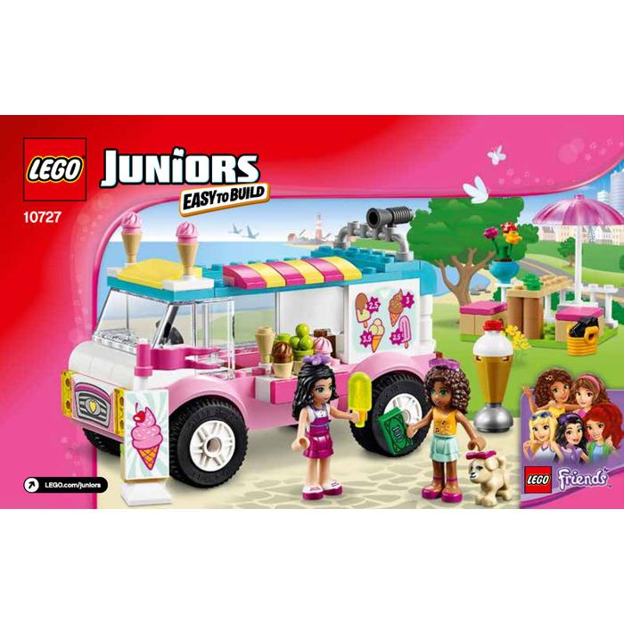Lego Emmas Ice Cream Truck Set 10727 Instructions Brick Owl