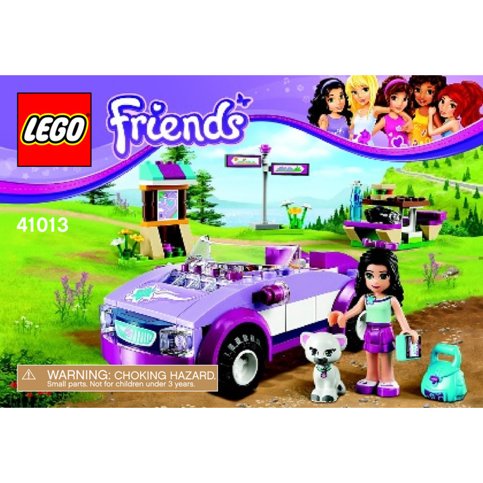 Lego Emmas Sports Car Set 41013 Instructions Brick Owl Lego