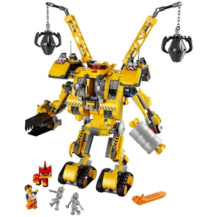 lego emmet s construction mech set 70814 brick owl. Black Bedroom Furniture Sets. Home Design Ideas