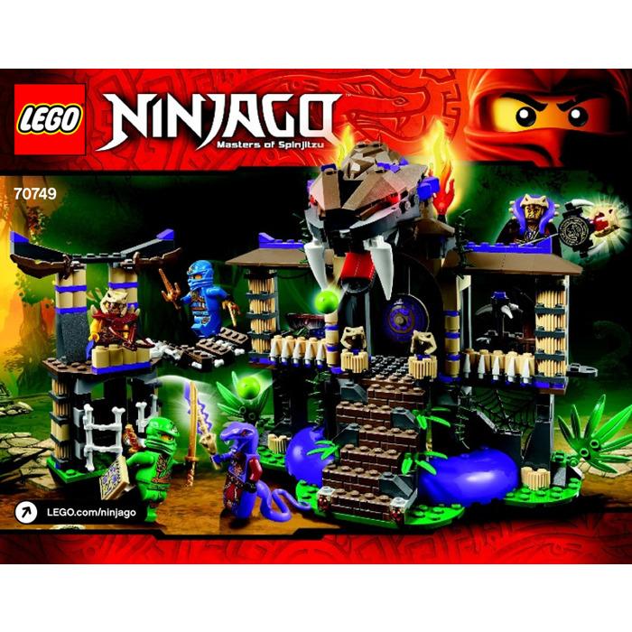 Lego enter the serpent set 70749 instructions brick owl - Serpent lego ninjago ...