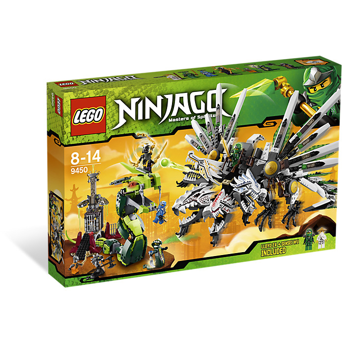 lego ninjago epic dragon battle instructions