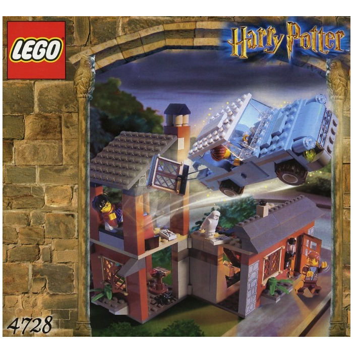 MOC] Weasley's flying car (with instructions) - LEGO