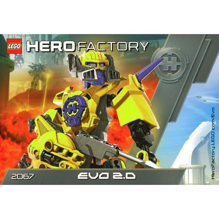 Lego Evo 20 Set 2067 Instructions