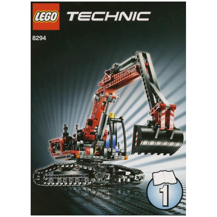 lego excavator 8294 brick owl lego march. Black Bedroom Furniture Sets. Home Design Ideas