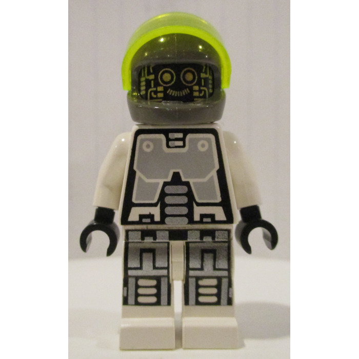 4 x Visiere de casque LEGO TrNeonGreen minifig Helmet Visor 2447// 6988 6982 6989