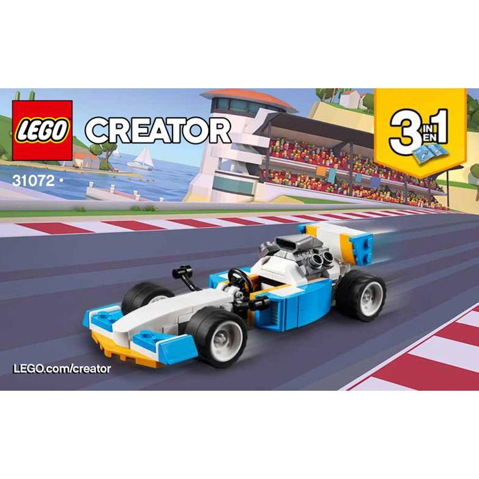 LEGO Extreme Engines Set 31072 Instructions