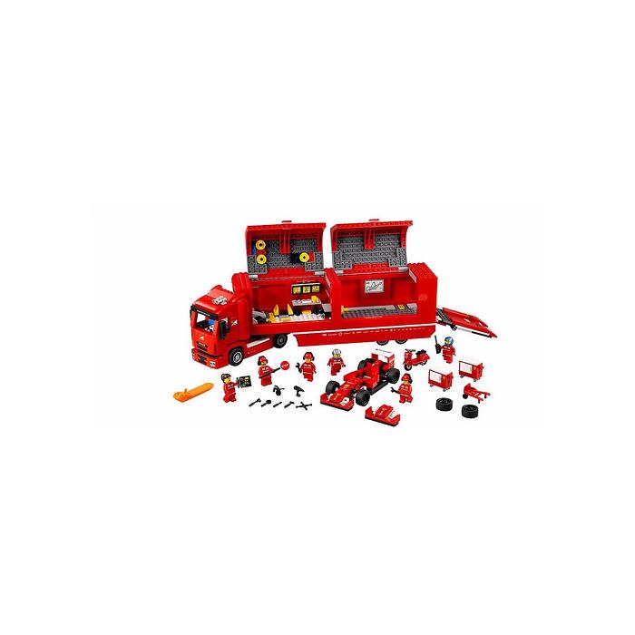 lego f14 t scuderia ferrari truck set 75913 brick owl. Black Bedroom Furniture Sets. Home Design Ideas