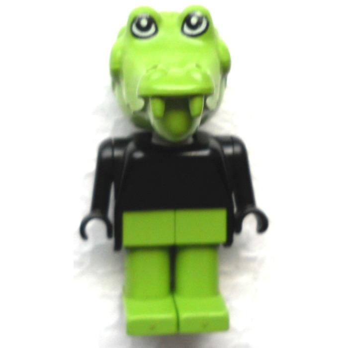Lego Fabuland Figure Crocodile 1 Minifigure Brick Owl Lego