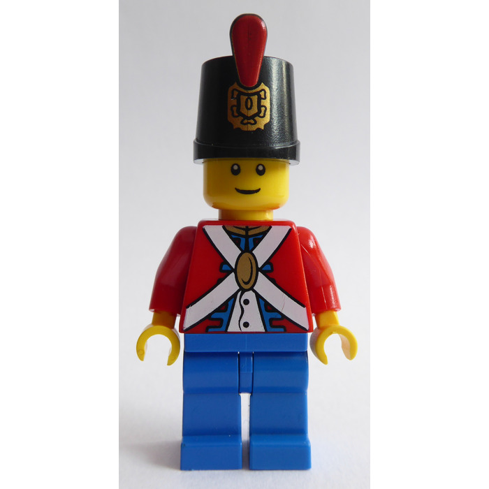 Headgear NEW LEGO Pirates Hat Imperial Guard Shako x 25  Red plume soldier