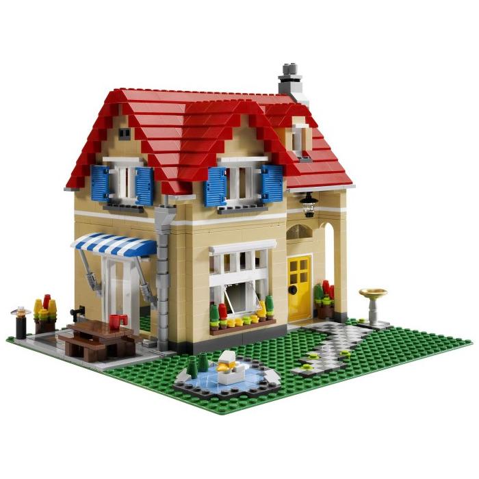 Lego family home set 6754 brick owl lego marketplace - Lego construction maison ...