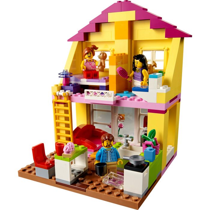 Lego family house set 10686 brick owl lego marketplace for Modele maison lego classic