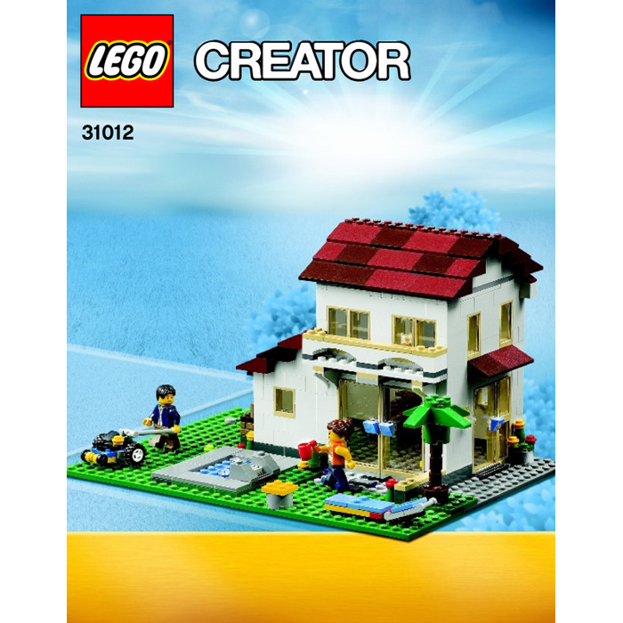 Lego Family House Set 31012 Instructions Brick Owl Lego Marketplace