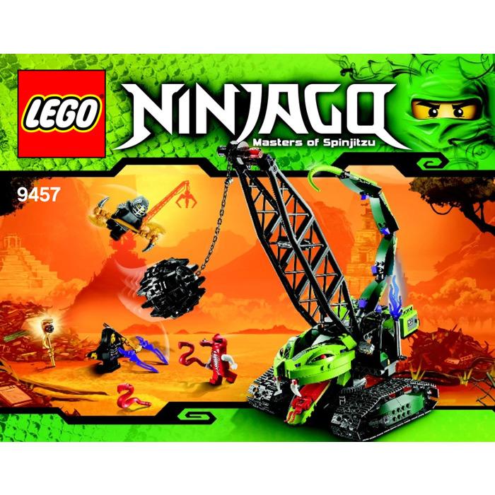 Lego Fangpyre Wrecking Ball Set 9457 Instructions Brick Owl Lego