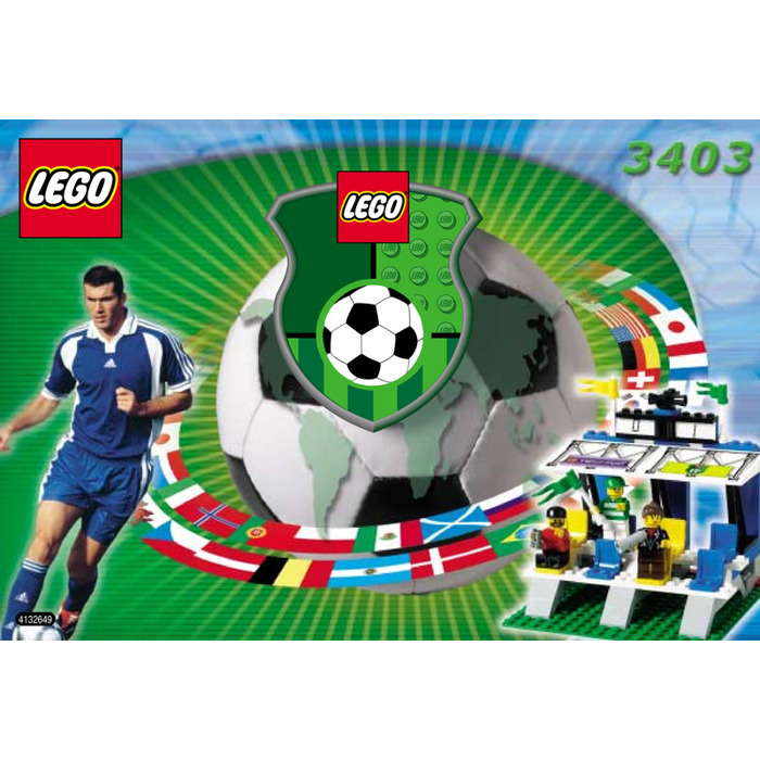 LEGO Fans' Grandstand with Scoreboard Set 3403 Instructions | Brick ...